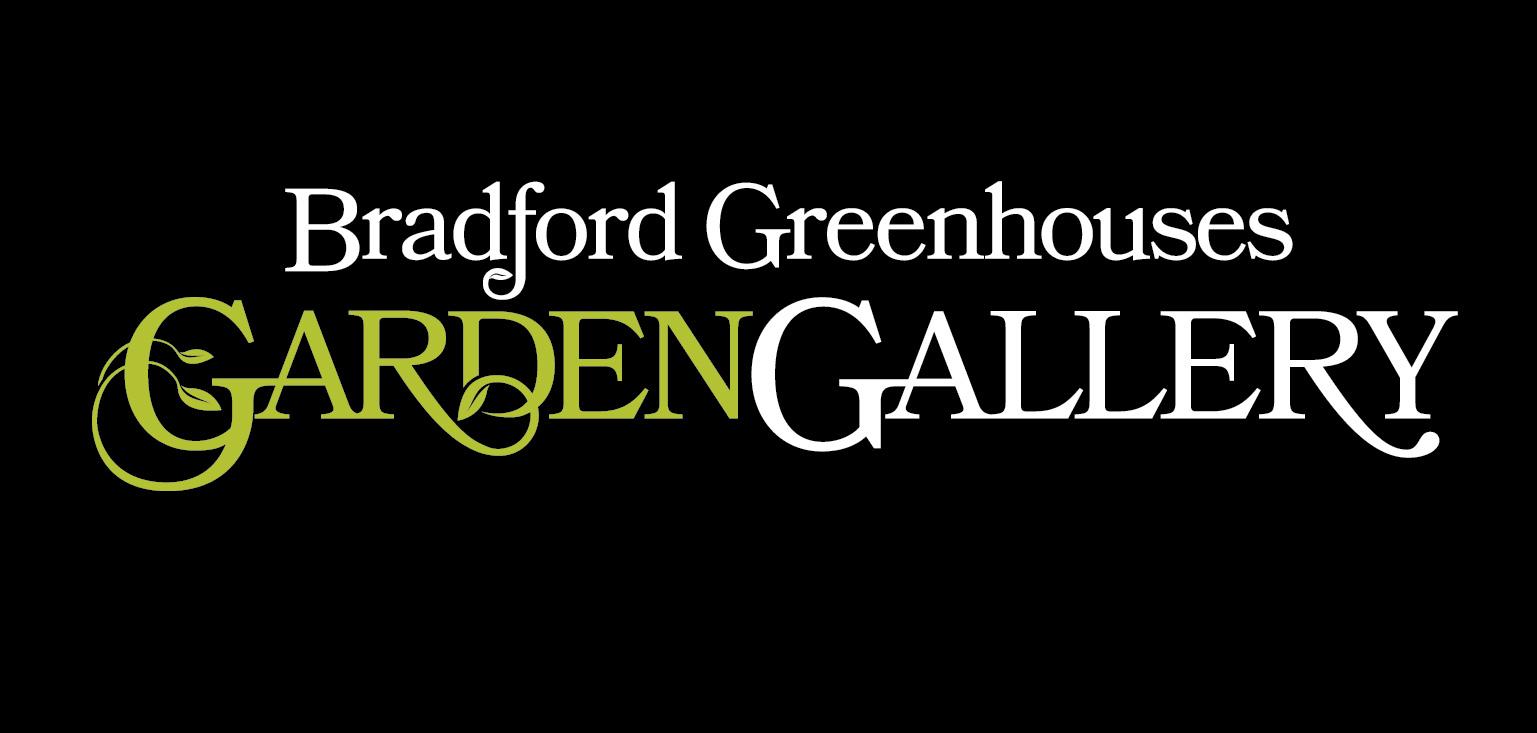 Bradford Greenhouses Garden Gallery Logo