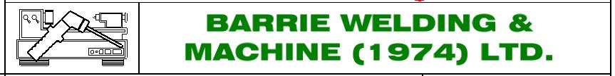 Barrie Welding & Machine Logo