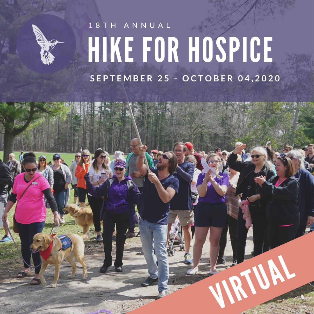 Hike for Hospice Event