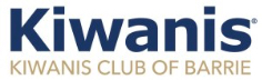 Kiwanis Club of Barrie Logo