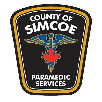 County of Simcoe Paramedic Services Logo
